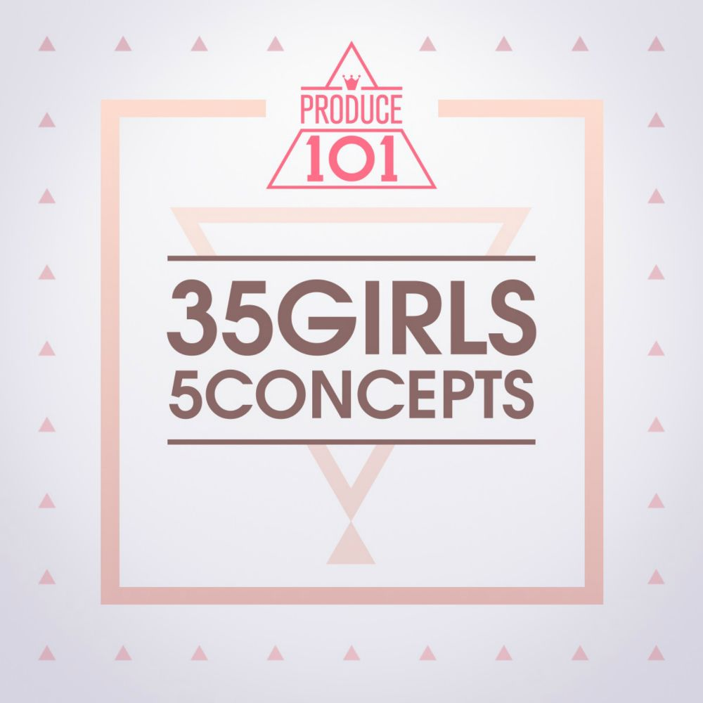 PRODUCE101 - 35 Girls 5 Concepts